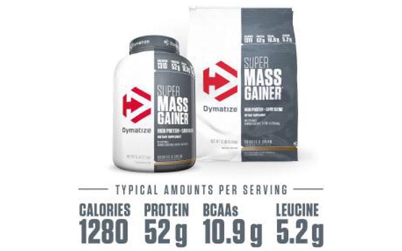 Thành phần dinh dưỡng của Super Mass Gainer