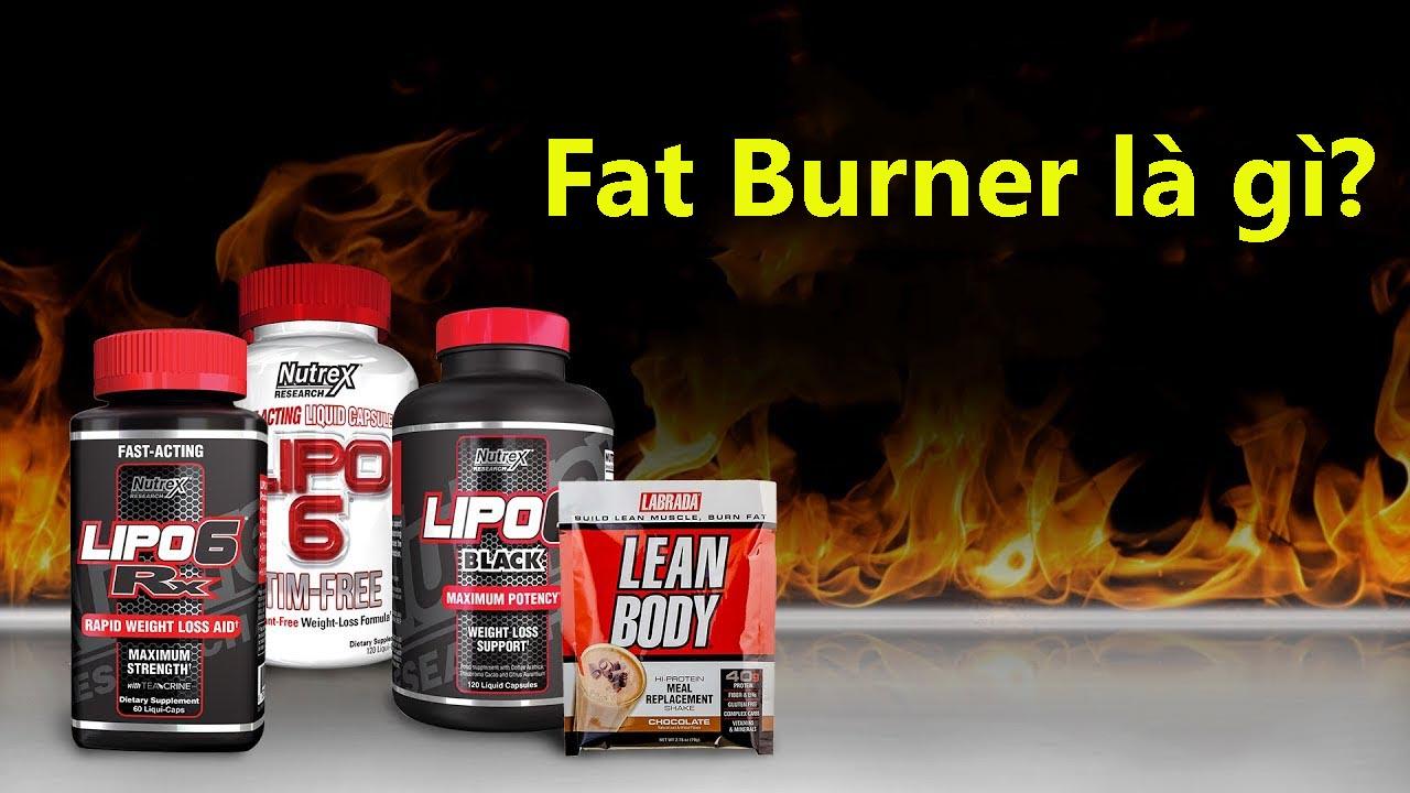 Fat Burner là gì?